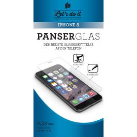Iphone 6 Panser-hærdet glas beskyttelse