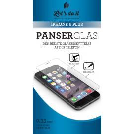 Iphone 6 PLUS Panser-hærdet glas beskyttelse