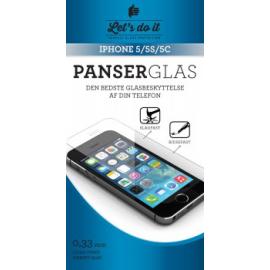Iphone 5 Panser-hærdet glas beskyttelse