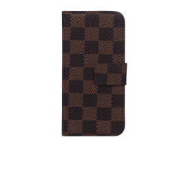 IPHONE 4 brun ternet flipcover