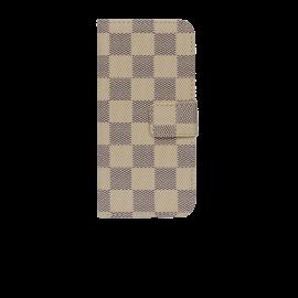IPHONE 4 biege-sort flipcover