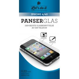 Iphone 4 Panser-hærdet glas beskyttelse