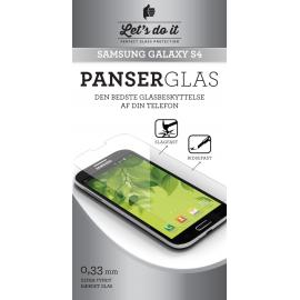 Samsung S4 Panser-hærdet glas beskyttelse